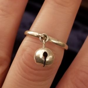 James Avery Jingle Bell Dangle Ring